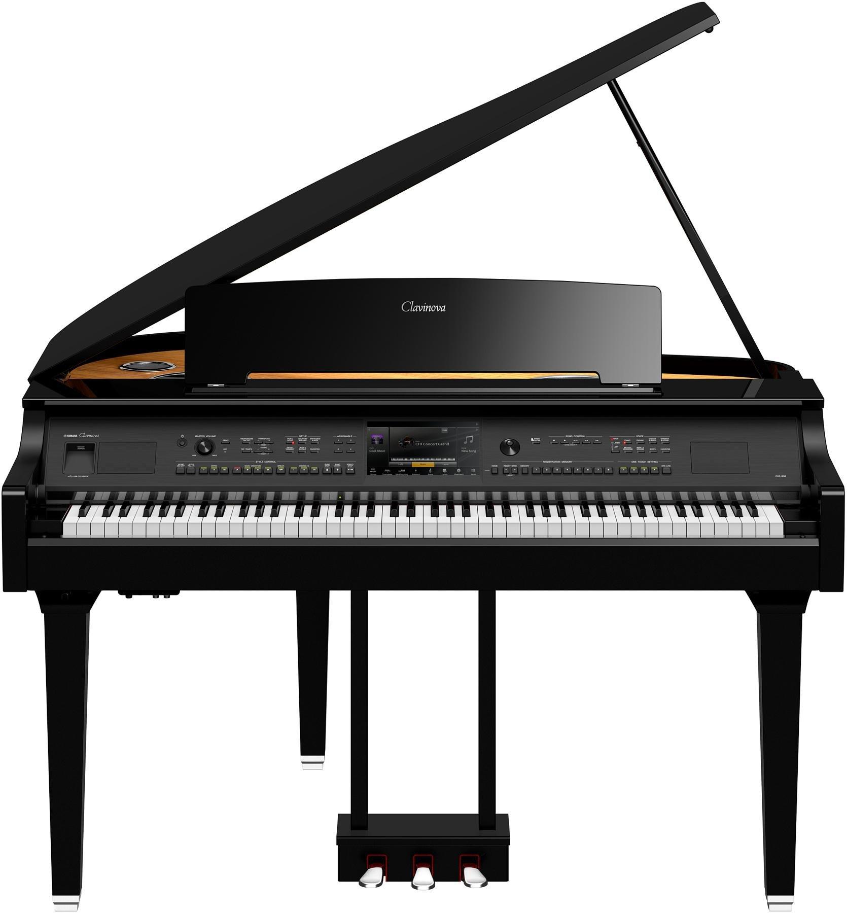 les pianos numeriques clavinova